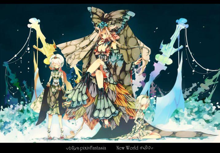 pixiv fantasia e wallpaper