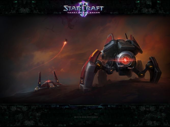 StarCraft II h wallpaper
