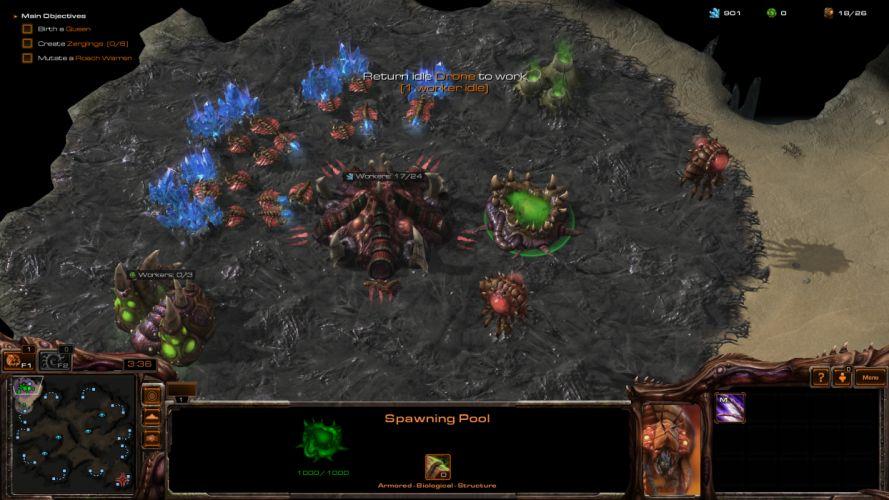 StarCraft II d wallpaper