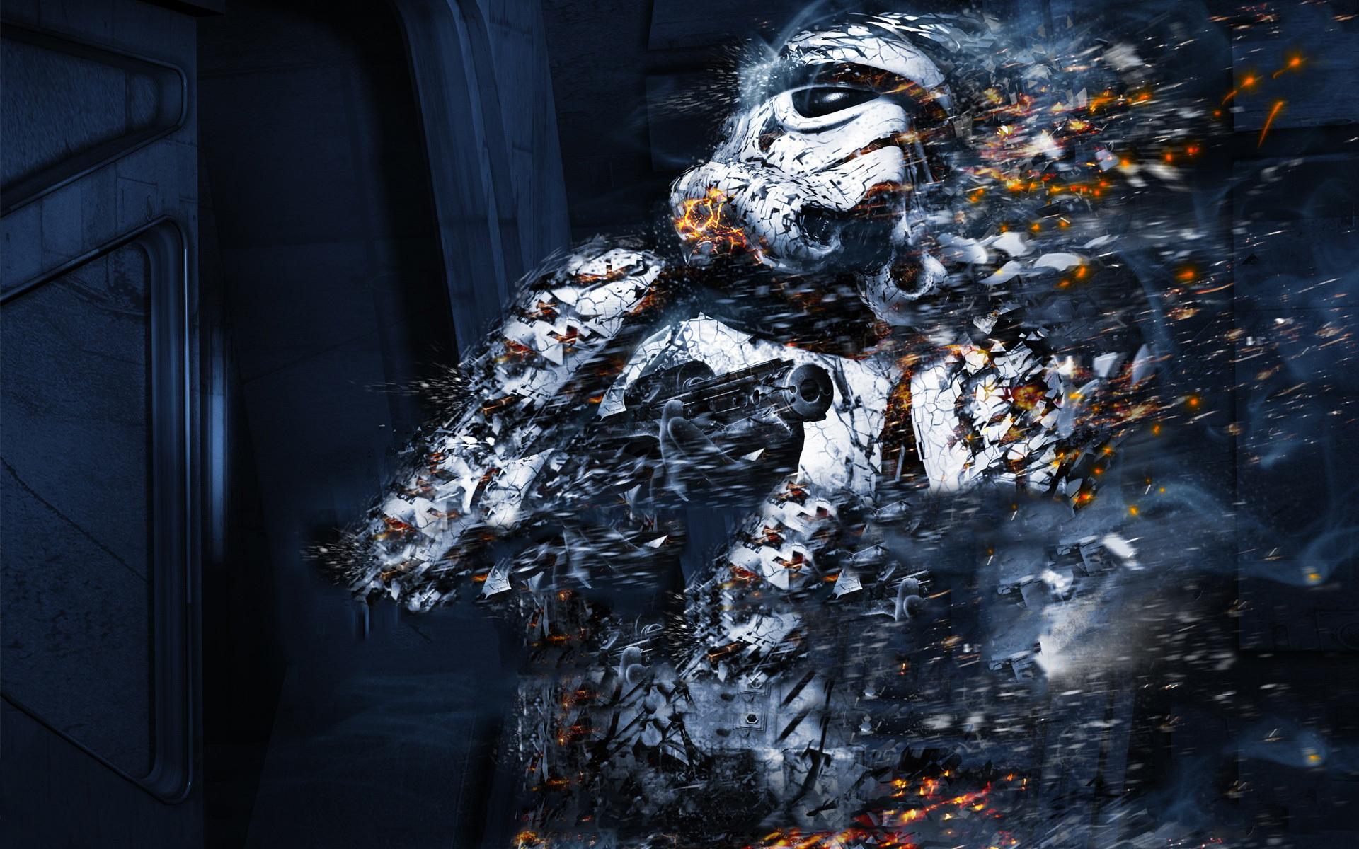 Sci Fi Clone : Star wars clone soldiers weapons ash sci fi movies