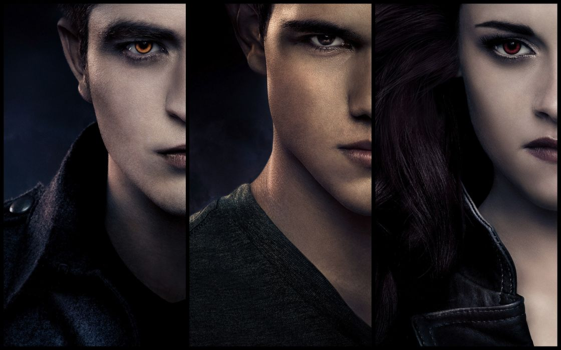 Twilight Saga Breaking Dawn Glance Movies Celebrities vampires wallpaper