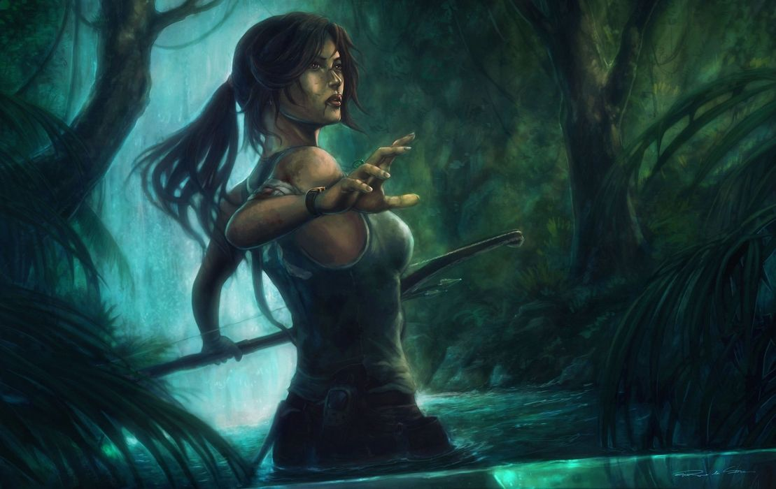 Tomb Raider 2013 Lara Croft Games Girls wallpaper
