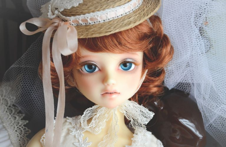 Toys Eyes Doll Glance Hat face eyes wallpaper