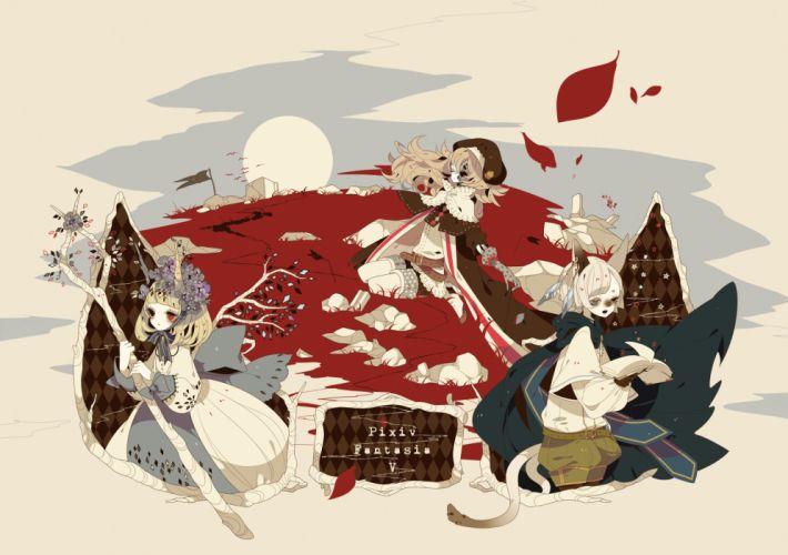 Pixiv Fantasia wallpaper