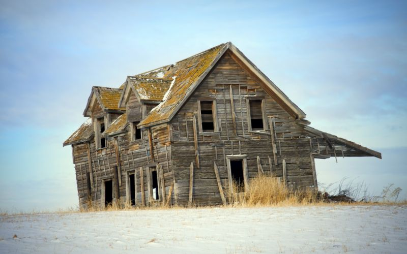 house field background buildings architecture beaches sand ruins decay wallpaper