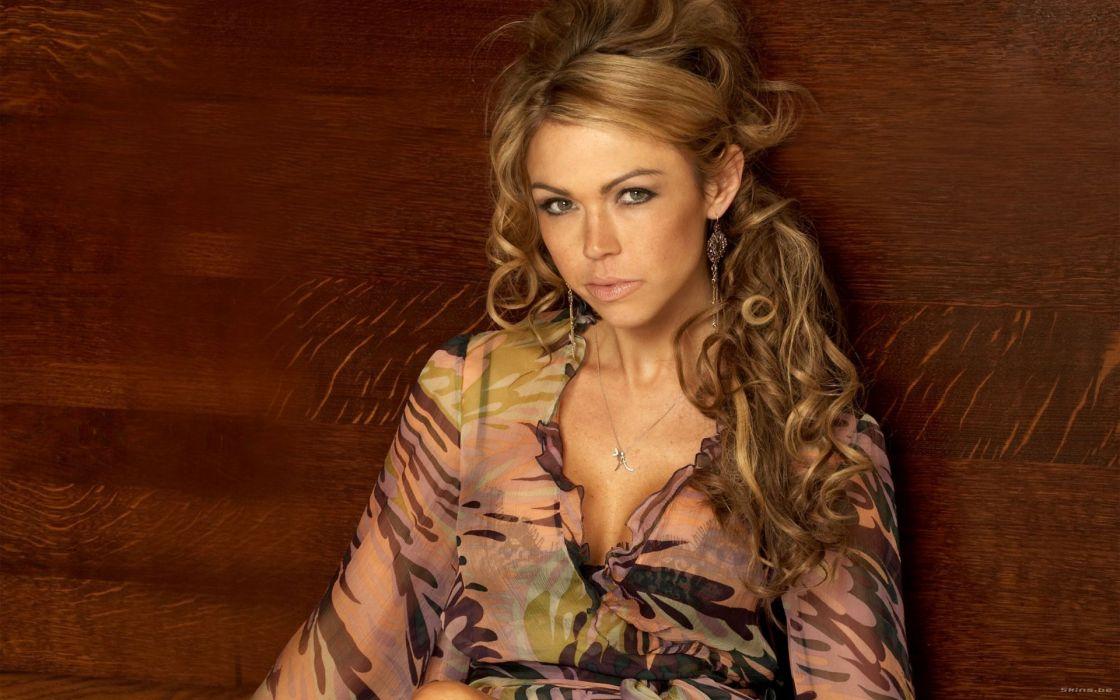 Adele Silva celeb actress women females girls models blondes sexy babes        z wallpaper