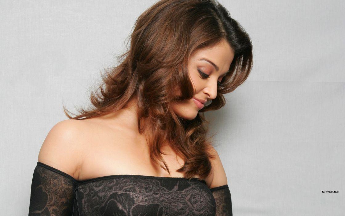 Aishwarya Rai actress brunette women females girls sexy babes wallpaper