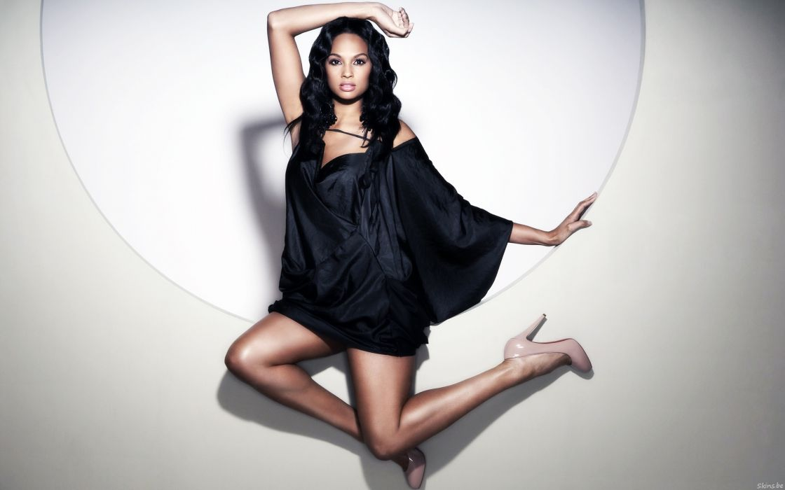 Alesha Dixon singer dancer rapper model brunettes sexy babes women females girls         r wallpaper