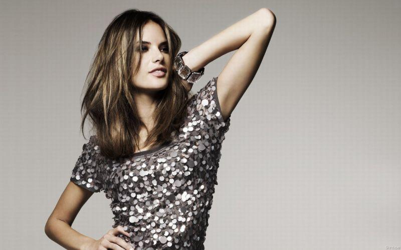 Alessandra Ambrosio fashion glamour model brunettes women females girls sexy babes d wallpaper