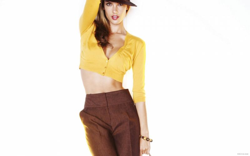 Alessandra Ambrosio fashion glamour model brunettes women females girls sexy babes s wallpaper