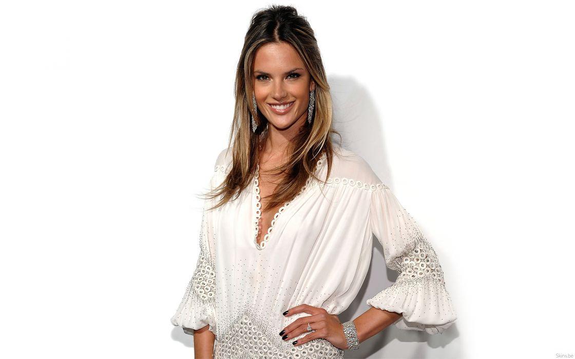 Alessandra Ambrosio fashion glamour model brunettes women females girls sexy babes       g wallpaper