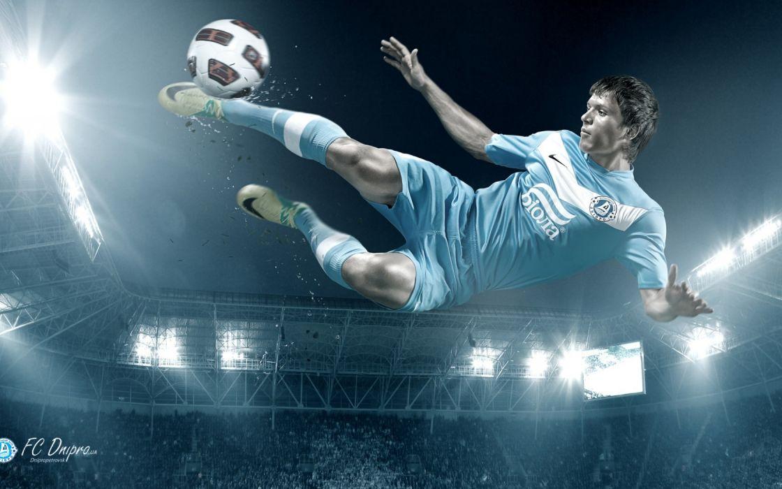 Biola set hit Eugene linnet Dnepr football soccer wallpaper