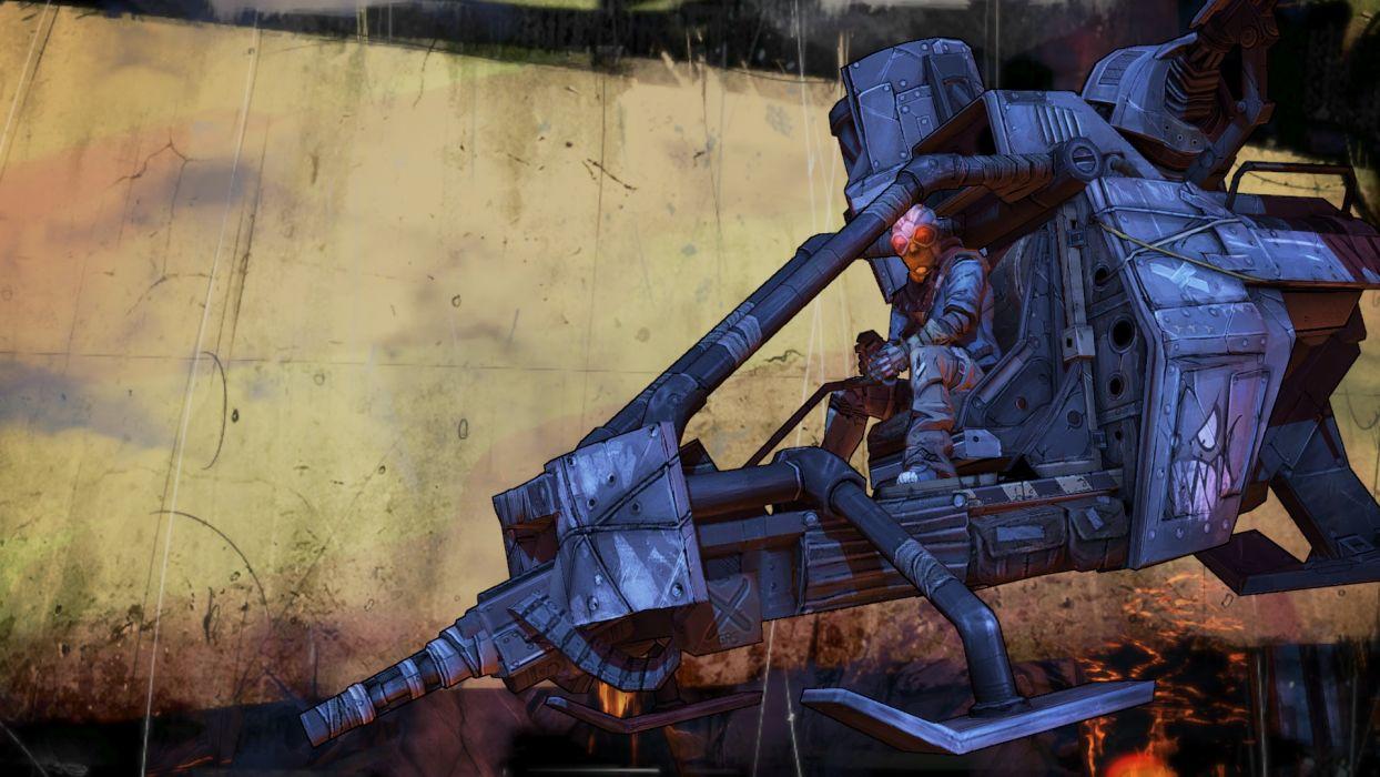 Borderlands sci-fi wallpaper