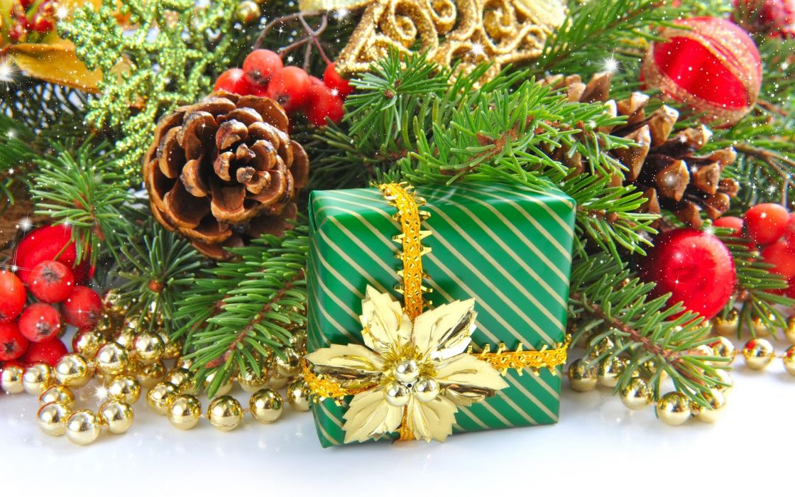 christmas decoration gifts trees wallpaper