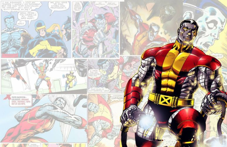 Colossus Marvel X-Men wallpaper