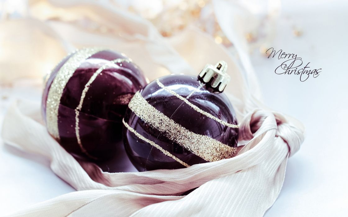 decorations gold Merry christmas wallpaper