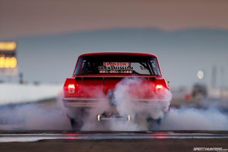 Drag Race Race Car Burnout Smoke Drag Strip chevrolet hot rods muscle track wallpaper