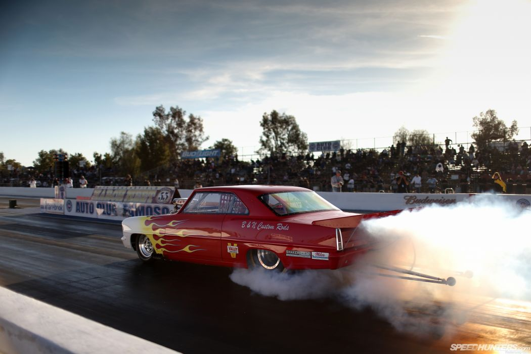 Drag Race Race Car Burnout Smoke Hot Rod Drag Strip racing hot rods muscle chevrolet nova wallpaper