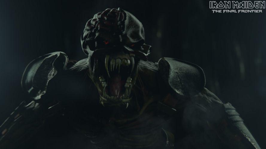 Iron Maiden heavy metal rock eddie monster creature dark wallpaper
