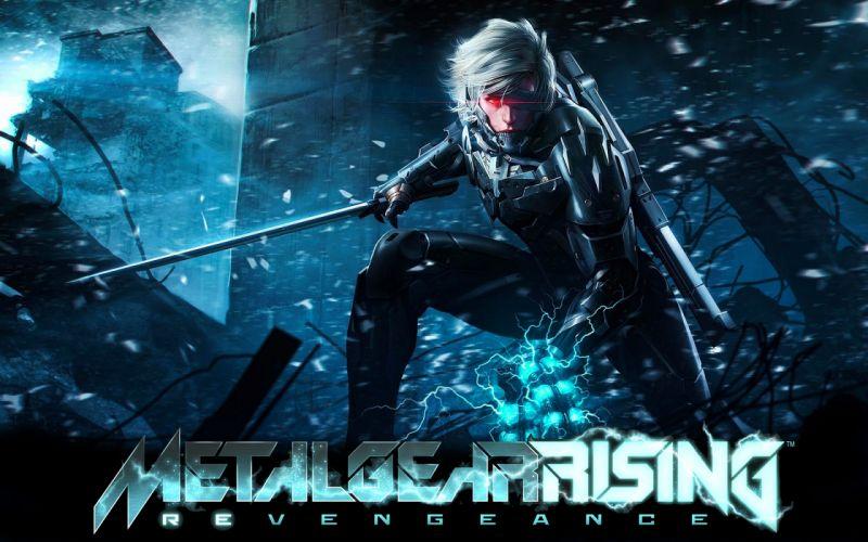 Metal Gear Rising sci-fi warrior weapons sword wallpaper