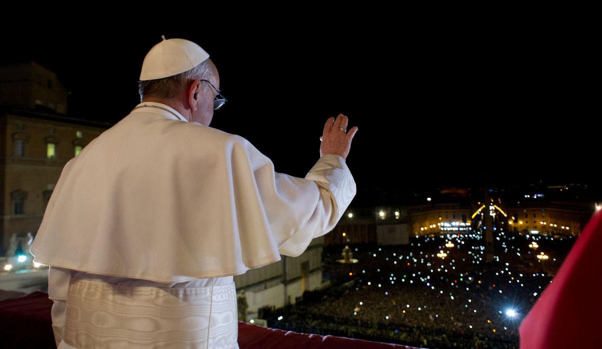 Pope Francis cardinal religion catholic men males people     d wallpaper