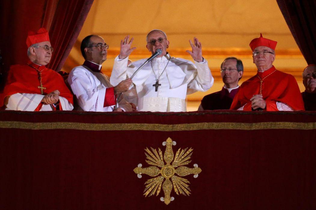 Pope Francis cardinal religion catholic men males people wallpaper