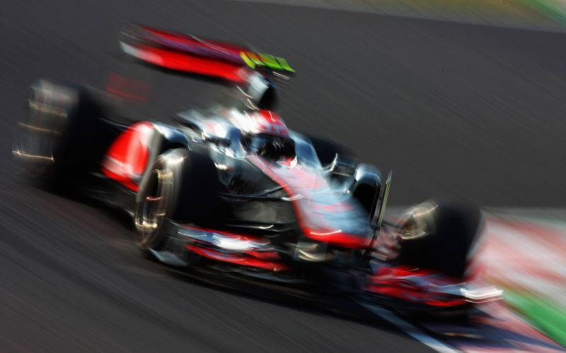 Race Car Formula One F1 Motion Blur racing track wallpaper