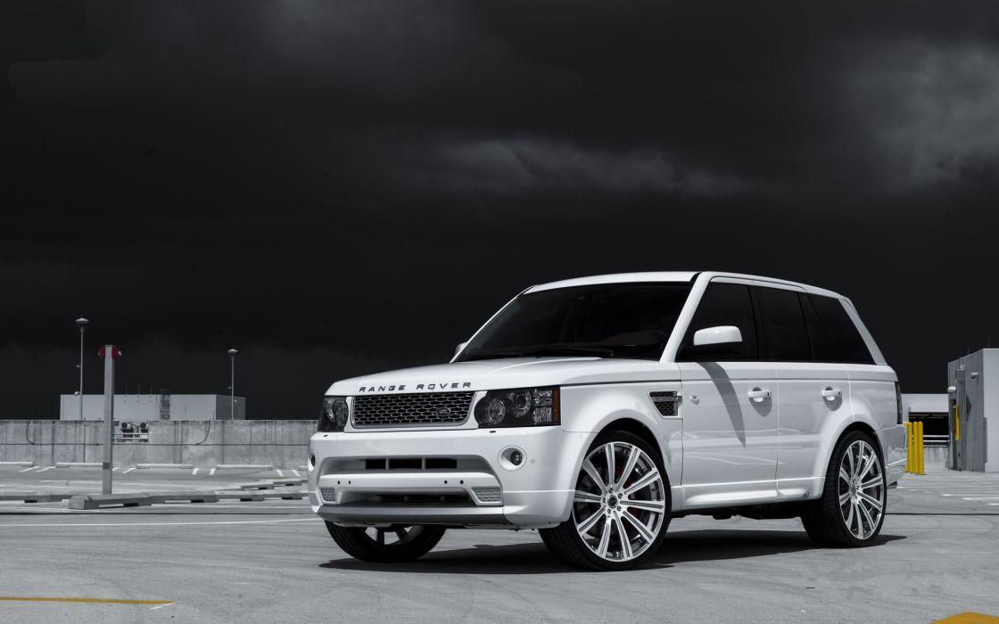 range rover tuning white wallpaper