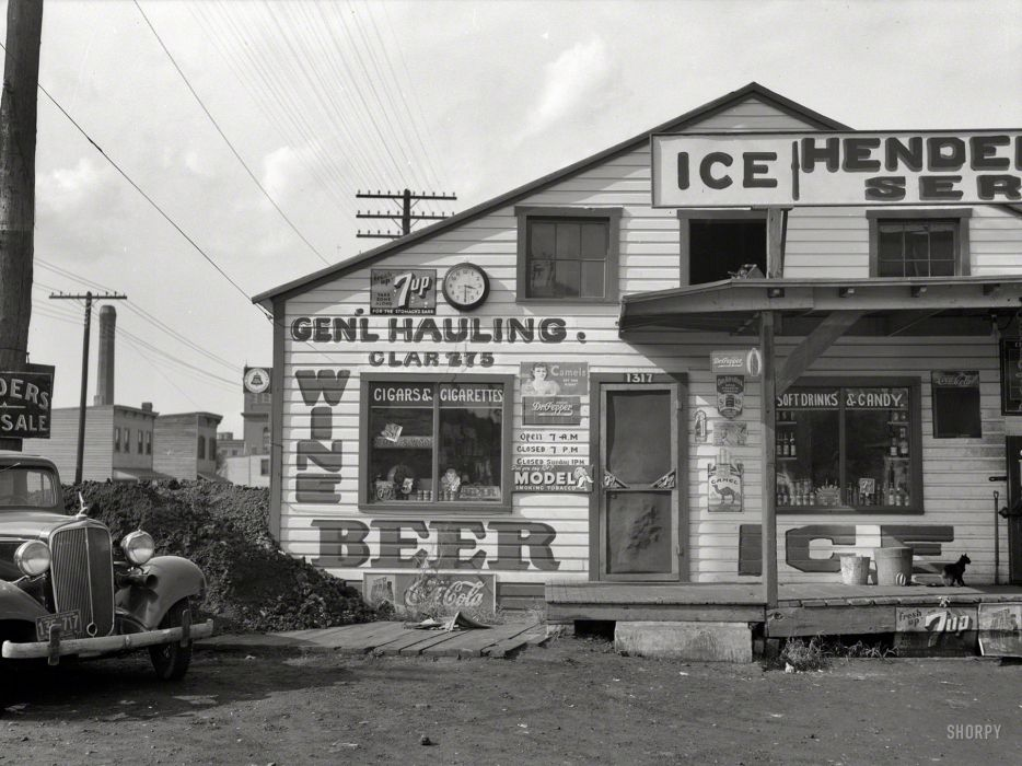 sign black white buildings architecture retro cars classic history wallpaper