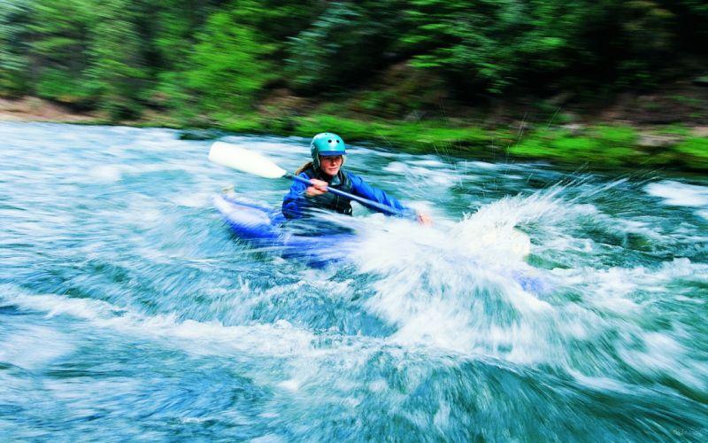 sports rivers boats women females girls drops wallpaper