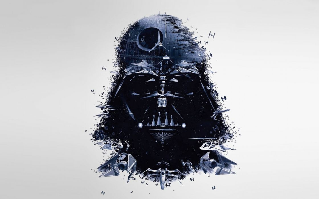 vader star wars movies sci-fi darth spaceships spacecraft death star mask wallpaper
