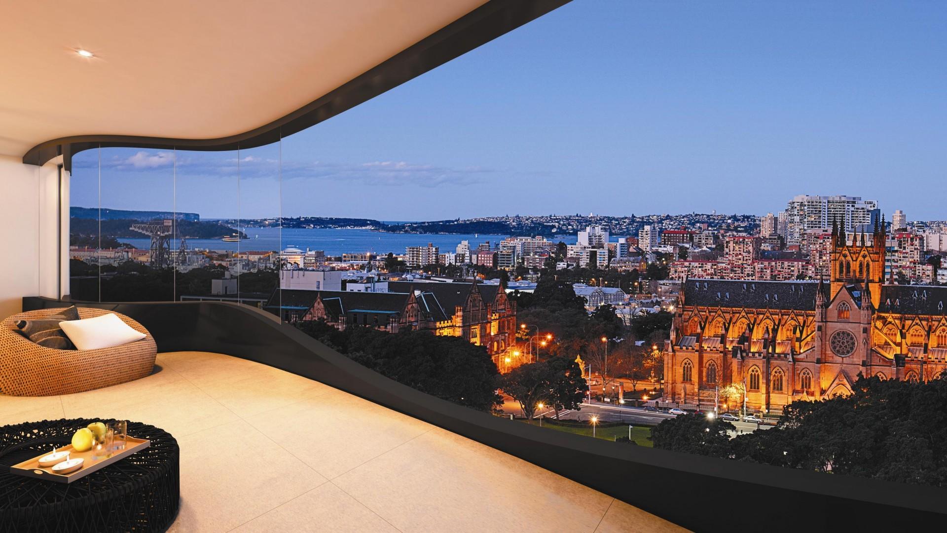 balcony view wallpaper - photo #39