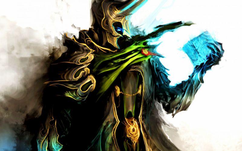 Marvel avengers avengers loki medieval comics warriors magic fantasy wallpaper