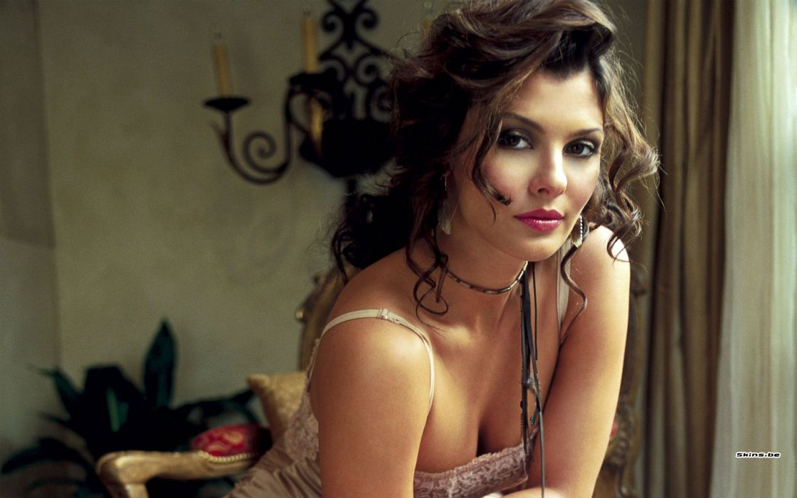 Ali Landry model actress brunettes women females girls sexy babes face      r wallpaper
