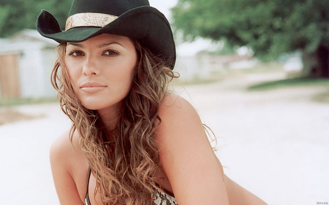 Ali Landry model actress brunettes women females girls sexy babes face     r wallpaper