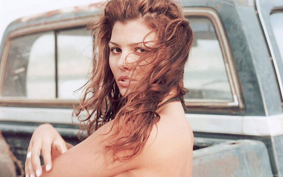 Ali Landry model actress redheads women females girls sexy babes face wallpaper