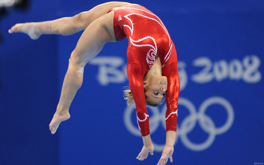 Alicia Sacramone gymnastic olympics sports women females girls sexy babes blondes wallpaper