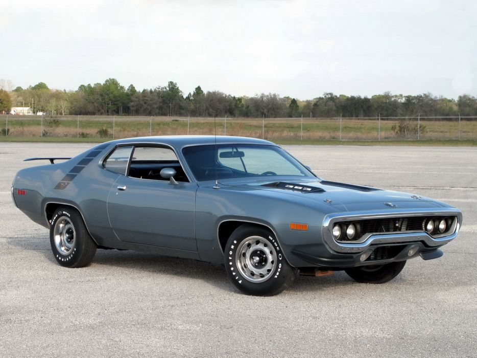 Road Runner  1971  Muscle Car  Plymouth wallpaper