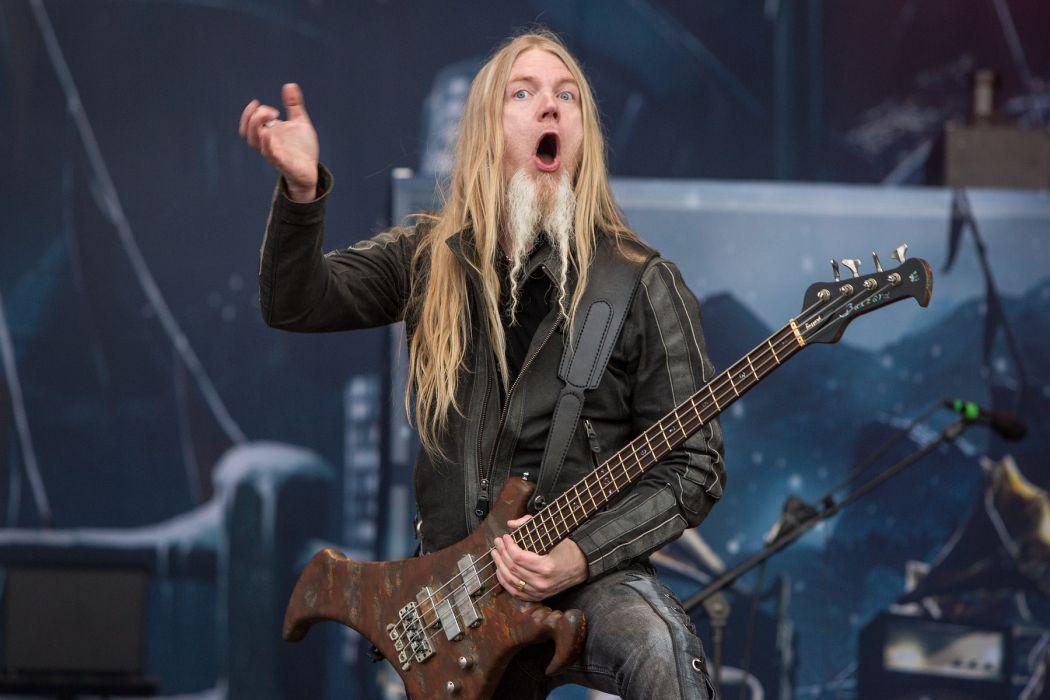 Nightwish Tarja Turunen band groups gothic heavy metal concert men males guitars wallpaper