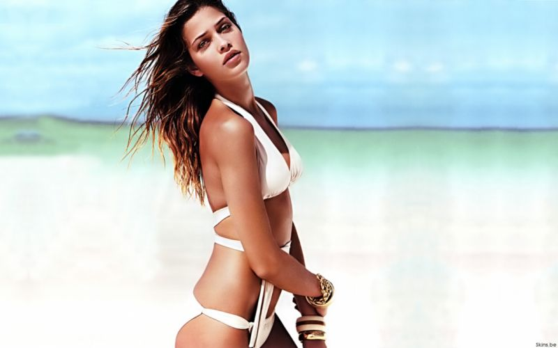 Ana Beatriz Barros model women females girls babes sexy bikini swimwear d wallpaper