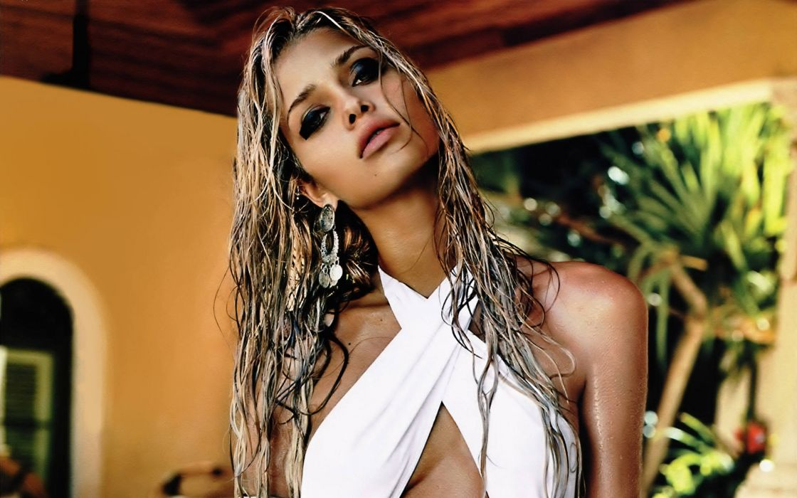 Ana Beatriz Barros model women females girls babes sexy face eyes       r wallpaper
