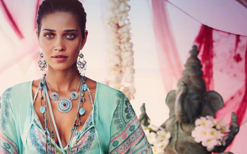 Ana Beatriz Barros model women females girls babes sexy face eyes f wallpaper