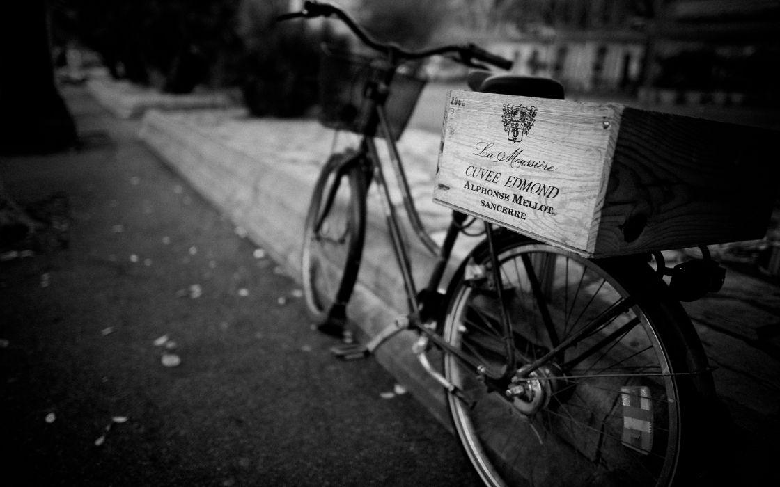 Bicycle bike black white macro wine wallpaper   1920x1200 ...
