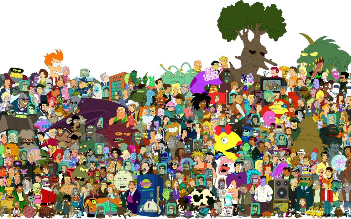 Futurama Cartoons      e wallpaper