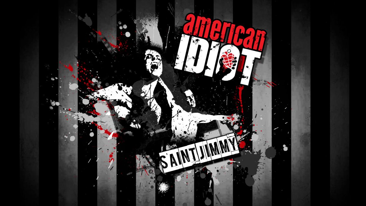 Green Day St_ Jimmy American Idiot music punk rock alternative band groups wallpaper
