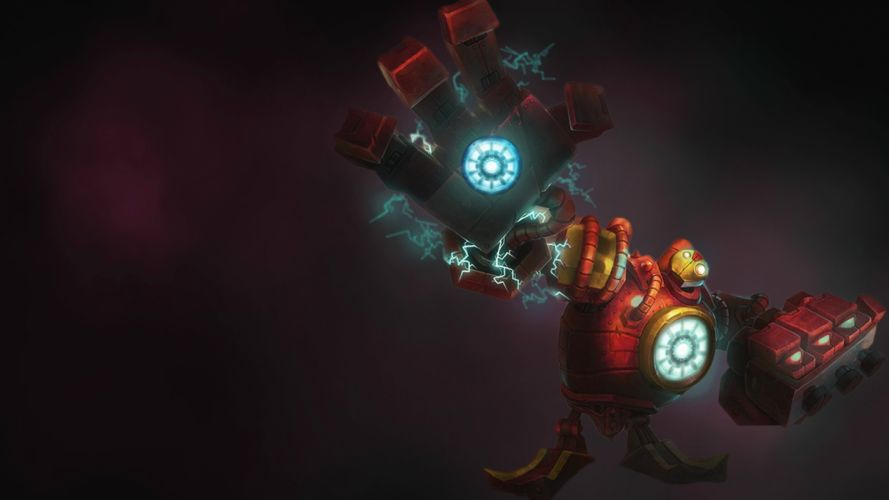 League of Legends Blitzcrank Hand Robot wallpaper