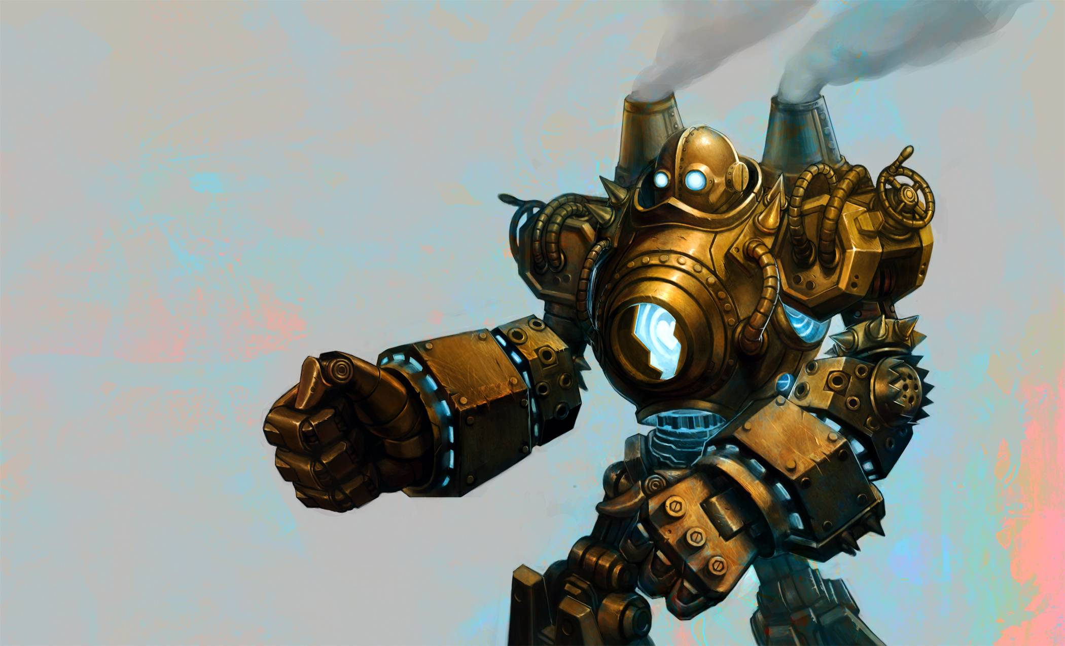 League Of Legends Blitzcrank Robot Sci Fi Steampunk