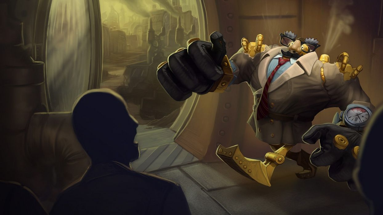 League of Legends Blitzcrank Robot Disguise wallpaper