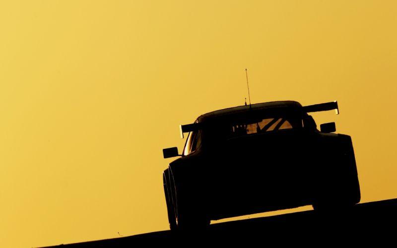 Porsche racing race cars track silhouette supercars wallpaper