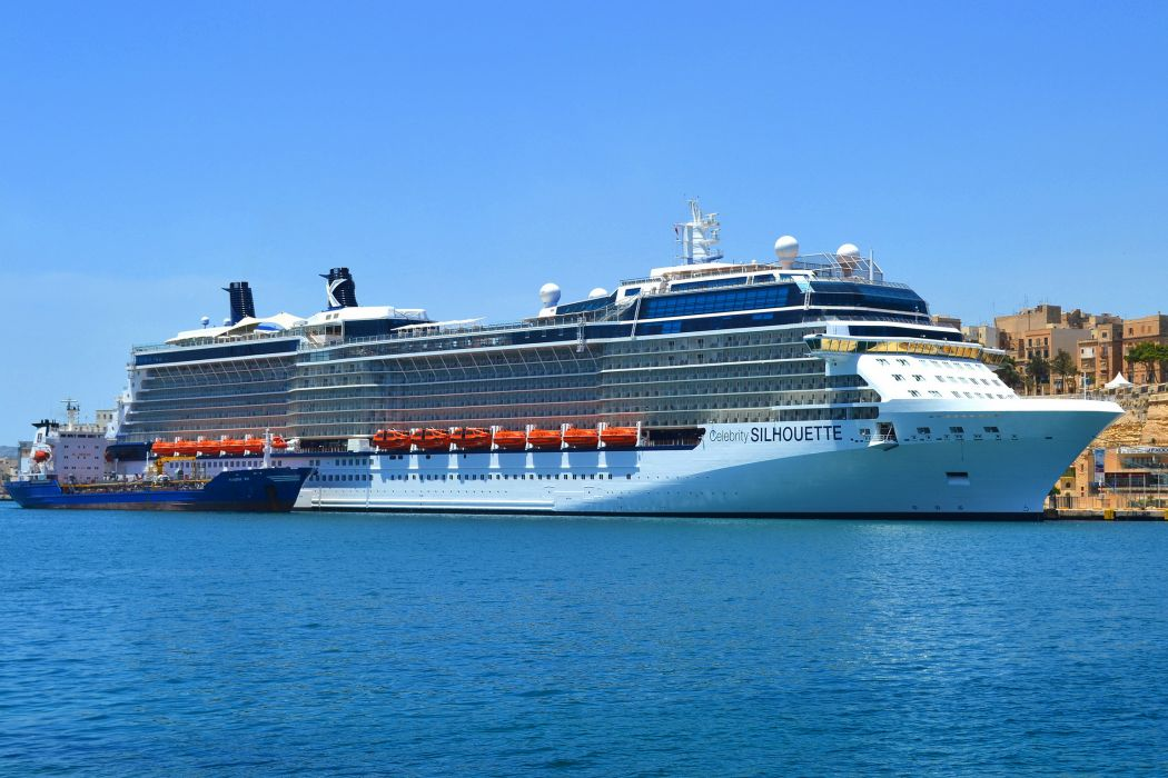 Ships Cruise liner Celebrity Silhouette boats wallpaper